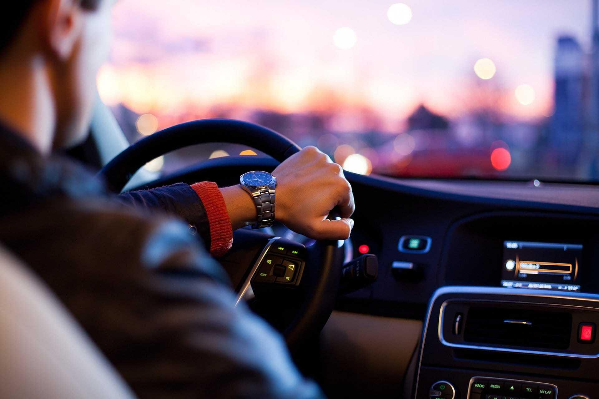 Руль машины - дом для бактерий