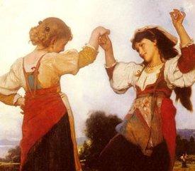 Итальянские народные танцы отгоняют зло