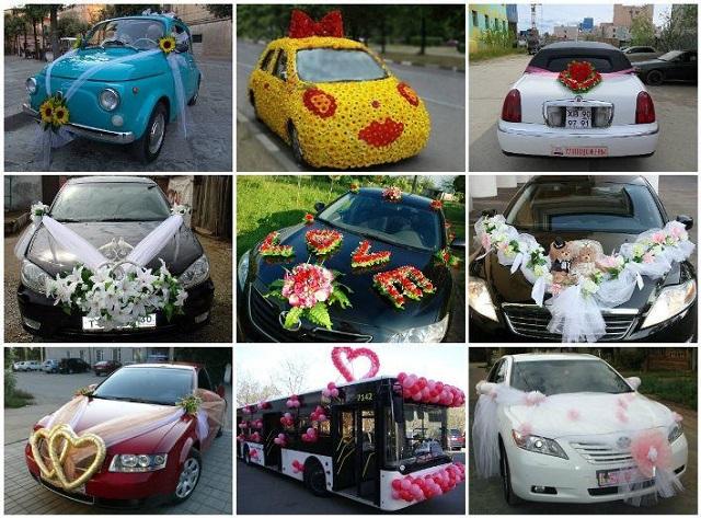 Чем украсим свадебный лимузин?