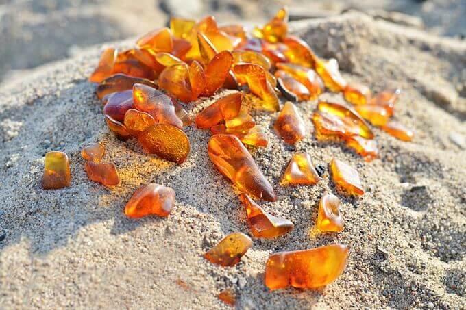 Янтарь - солнечный камень с побережья Балтики