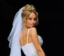 Свадебная прическа.