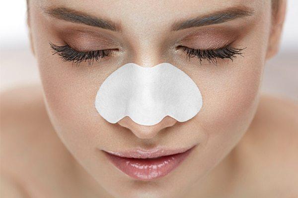 Домашние полоски для очищения пор на носу