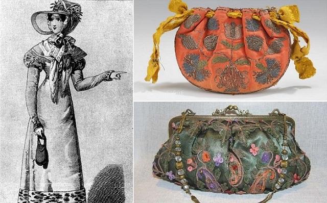 История сумки: от узелка до ридикюли