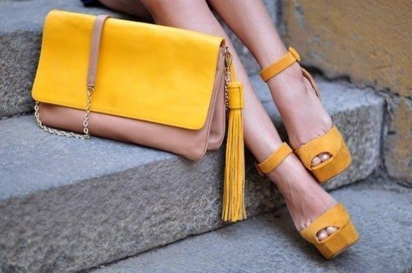 8 советов по стилю. Сочетание цвета сумки и обуви - дурной вкус