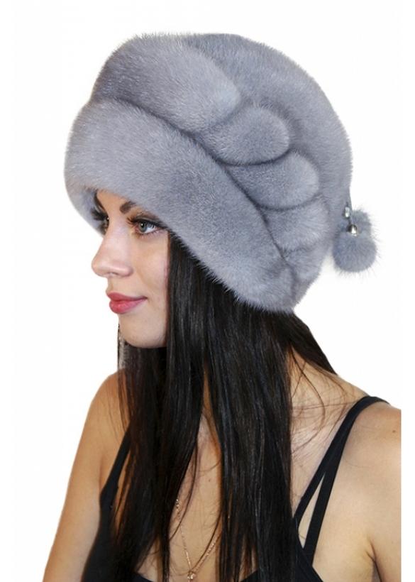 Выбираем модные женские шапки на зиму. шапка_2