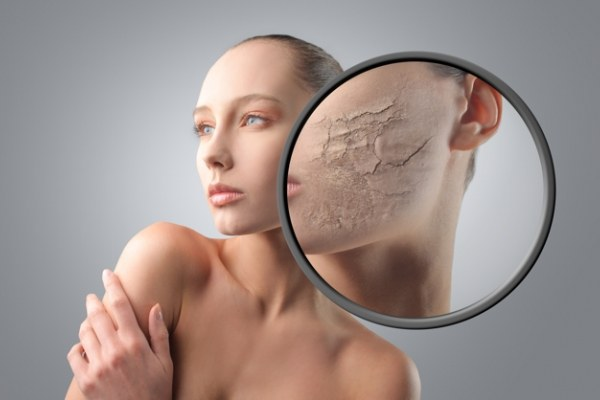 Лайфхак - как скрыть шелушащуюся кожу