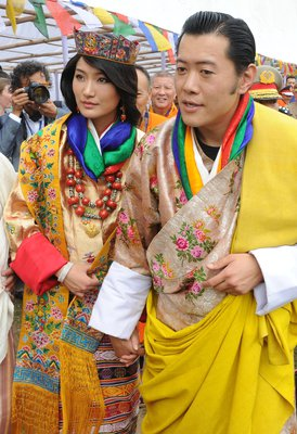 Новая икона монаршего стиля - королева Бутана. 10251.jpeg