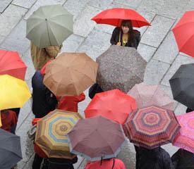 Как выбрать надежный зонт