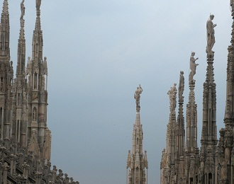 Милан: туманы, шпинат и человеческая кожа