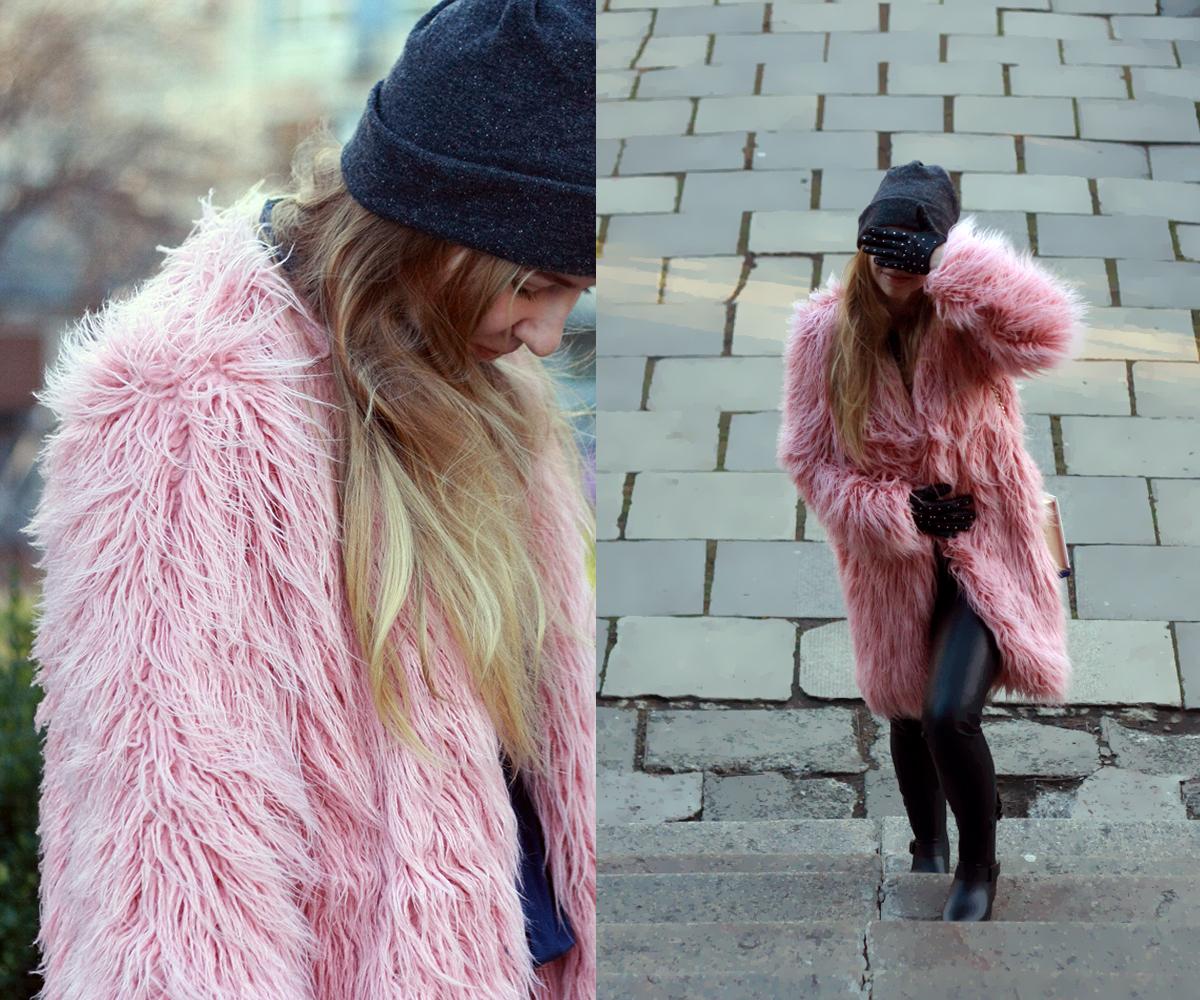 Как одеваться модно в сильный мороз