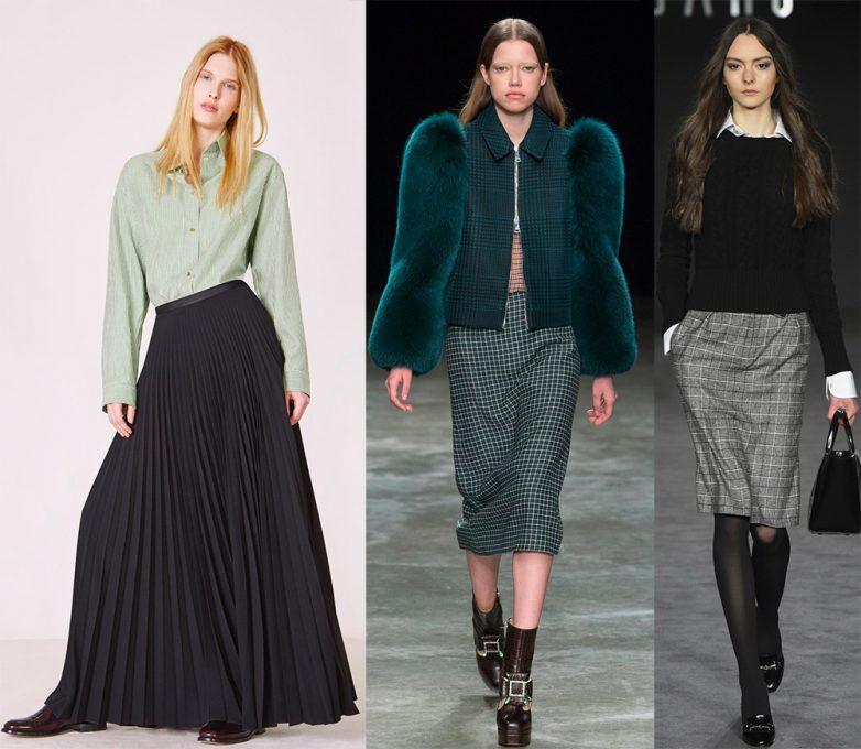 Самые стильные юбки осени 2018 года