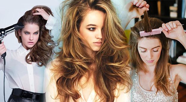 Как придать объем волосам – необычные методы