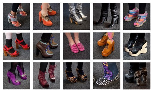 Весна 2012: обувные тренды