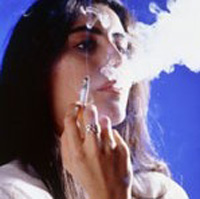 Как спасти лицо от последствий курения.