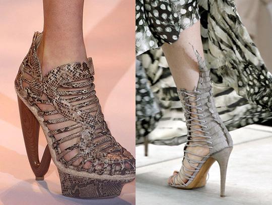 Весна-лето 2011: главный акцент - на обувь