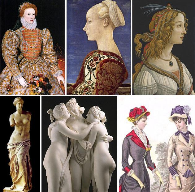 От Афродиты до Твигги: эта изменчивая красота