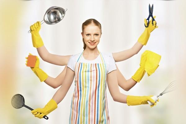 Уборка на кухне - это не страшно