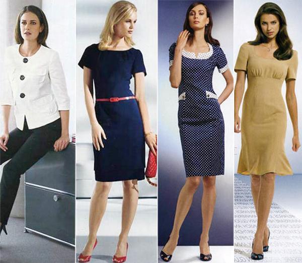Как выглядеть женственно в офисе?