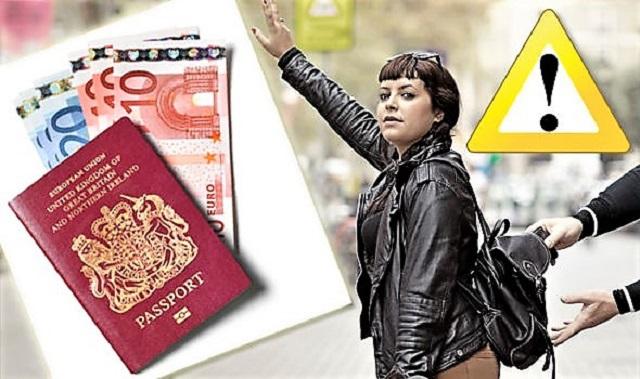 Если в отпуске украли паспорт, билет, багаж...