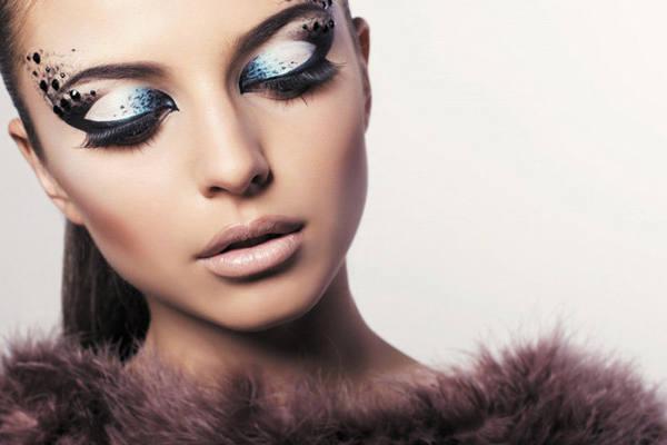 Интересные идеи для новогоднего макияжа