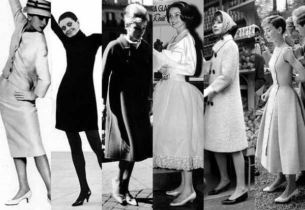 Секреты легкой походки Одри Хепберн и Софи Лорен
