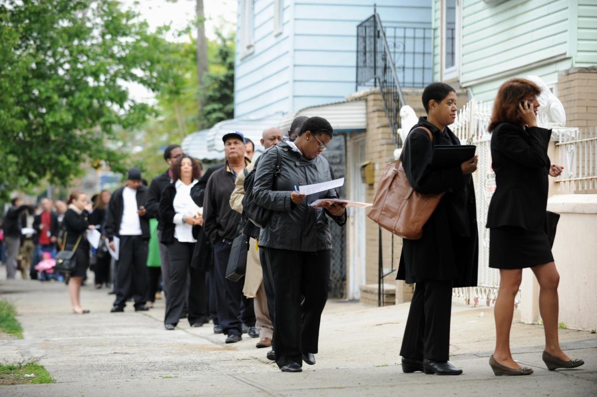 Безработица растет