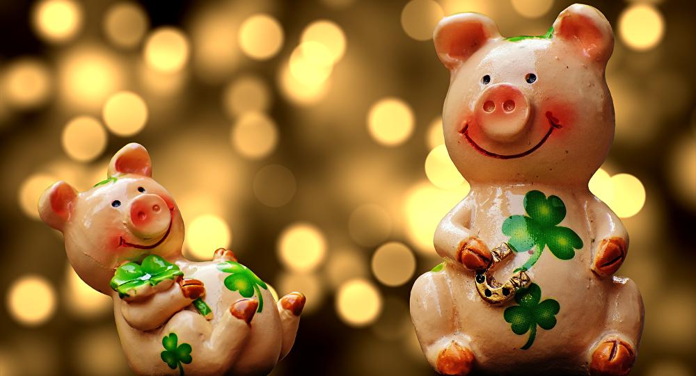 Стилисты знают, в чем встречать Новый год Желтой Земляной Свиньи