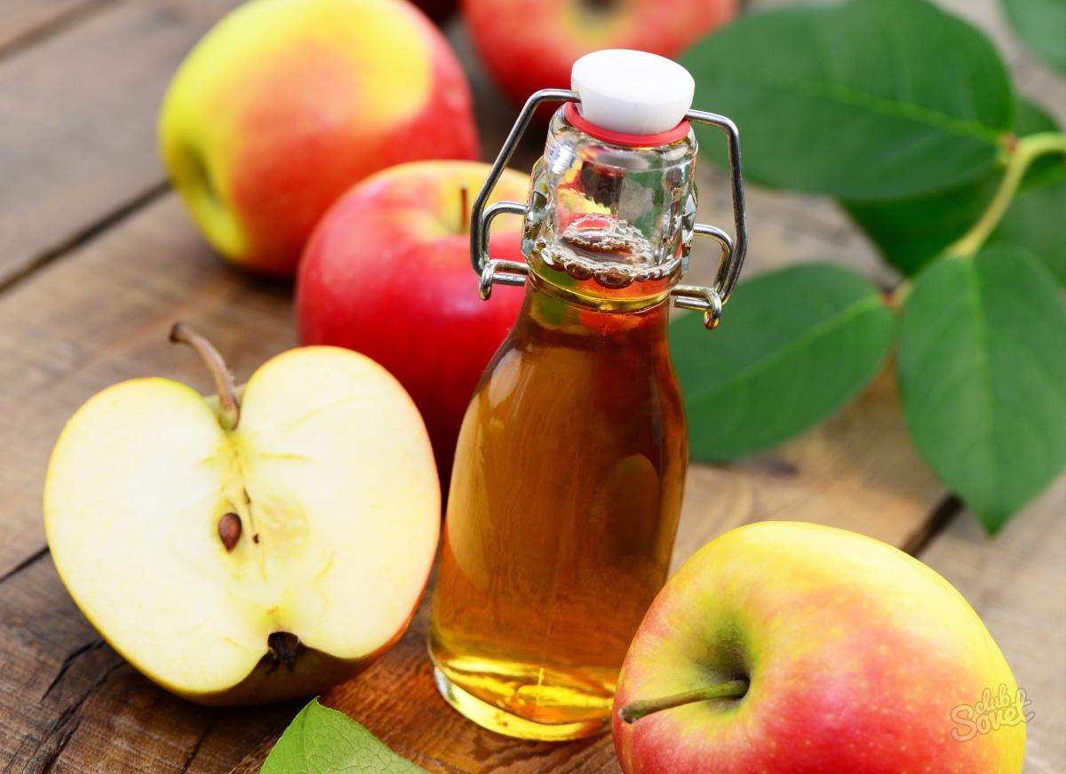 Яблочный уксус незаменим для красоты