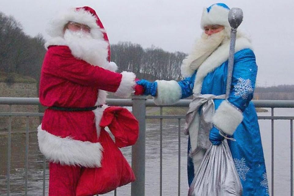 На Украине входят в моду Санта-Клаус и Святой Николай вместо деда Мороза и Снегурочки
