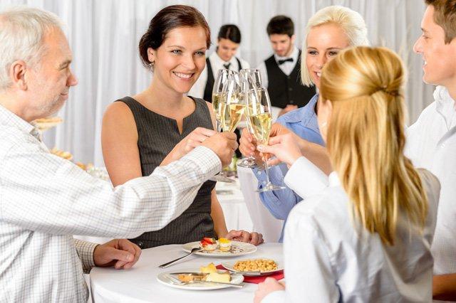 Вечерний наряд для бизнес-леди