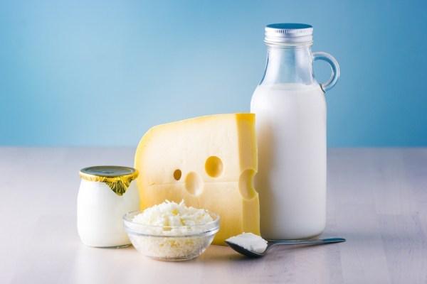 Два вида щадящих молочных диет