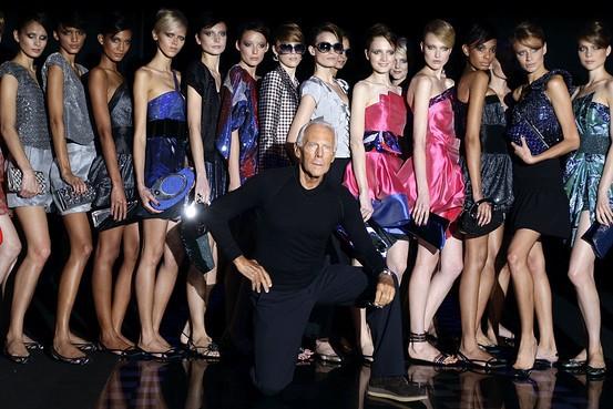 Армани назвал Москву домом современной моды