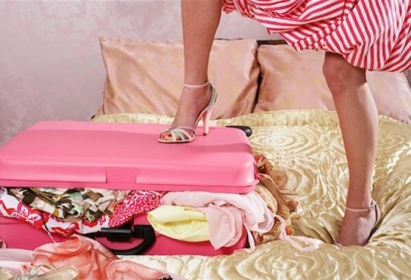 Тысяча нарядов из... лёгкого чемодана