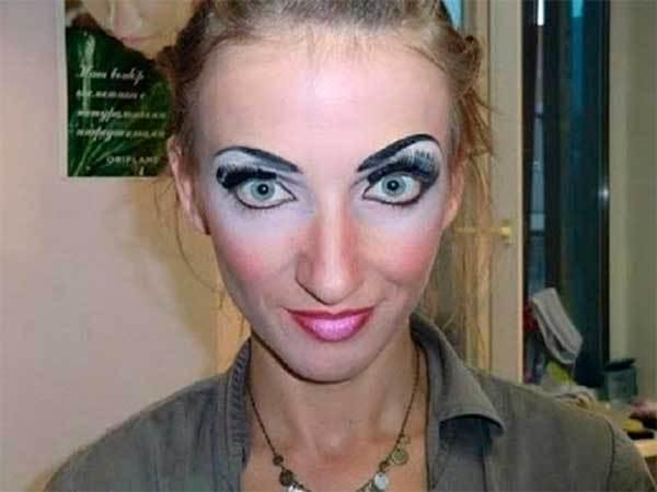 Непростительные ошибки в макияже