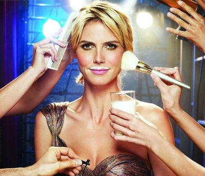 Десять секретов красоты от супермодели Хайди Клум