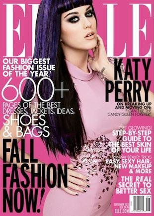Осень-2012: в моде конфетки и кирпичи. Elle 9/12