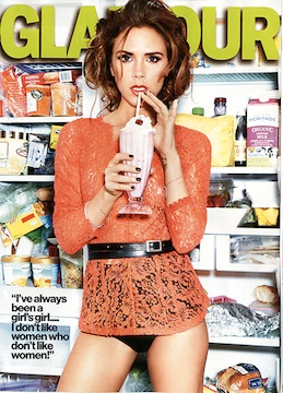 Осень-2012: в моде конфетки и кирпичи. Glamour 9/12