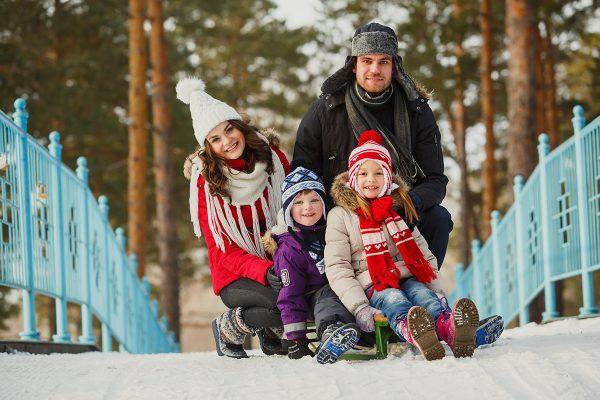 Развлечения для ребенка зимой