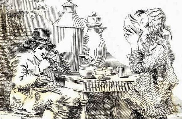 Странное меню уличных торговцев Викторианской эпохи