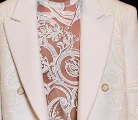 Белая сорочка – фаворит осенней моды. белая сорочка, кружево