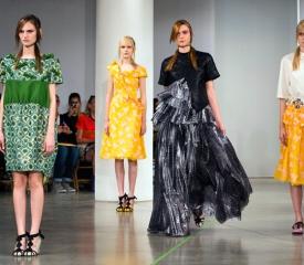 Мода из Нью-Йорка: весна уже идет
