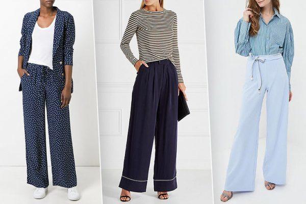 Модные брюки на осень 2019