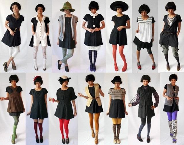 Эксперименты с маленьким черным платьем