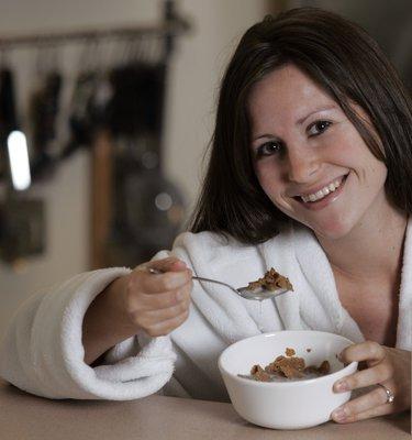 Завтрак для стройной фигуры и блестящих волос