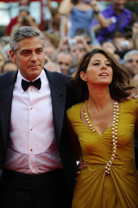 На красной дорожке Венецианского кинофестиваля