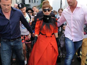 Леди Гага в русском стиле