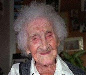 Жанна-Луиза Кальман - долгожительница с юмором