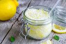 Лимонный скраб для тела своими руками