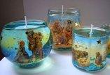 Как самой сделать прозрачные свечи?