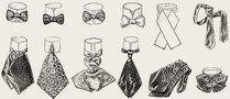 Галстук: история интересного элемента гардероба
